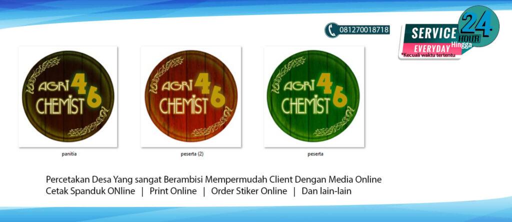 Souvenir Cetak Pin Jakarta no 1 Berkualitas Design Bebas 1