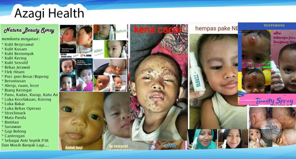 Testimoni Beauty Spray